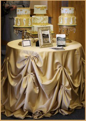 cake table | Cake Table Linen - Advice - Project Wedding Forums