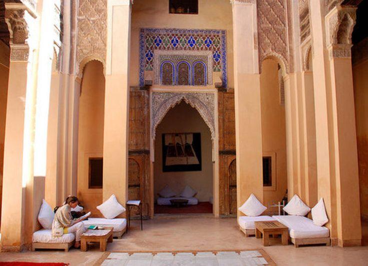 Marrakech - Bouquiner en toute quiétude au Dar Cherifa - Bon plan voyage Maroc