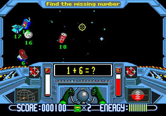 10 Childhood Computer Lab Games // Hell yeah, Math Blaster! #90s