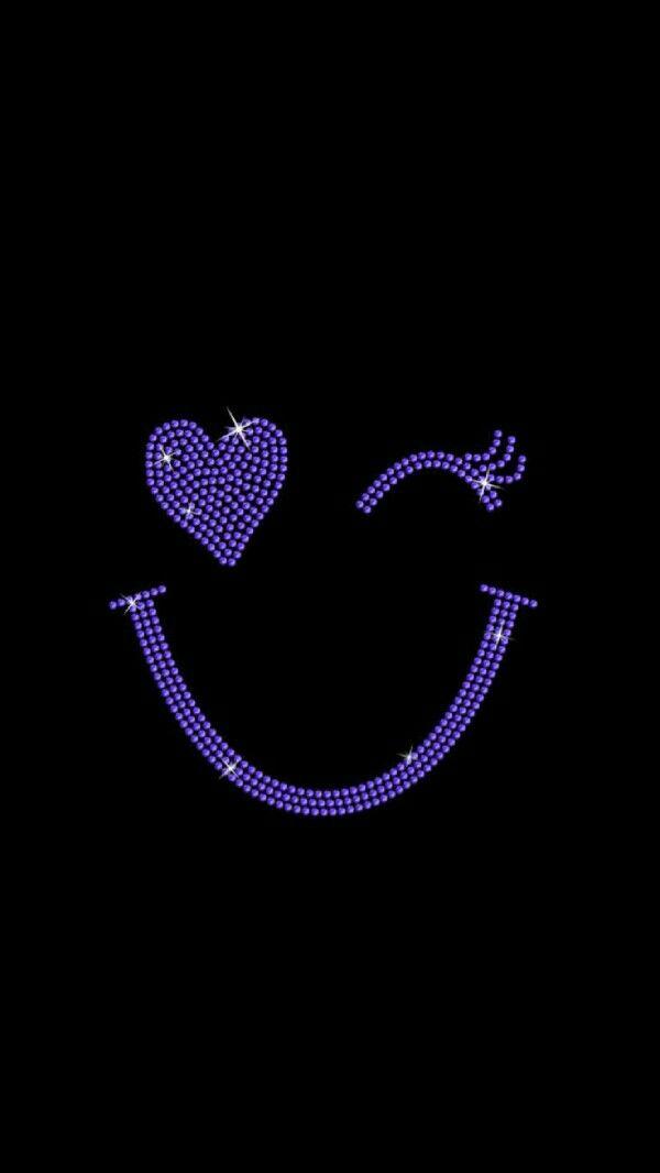 Pin By Nelya Loreto On I Like Emo Wallpaper Heart Wallpaper Emoji Wallpaper