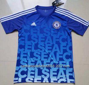 Camisetas entrenamiento Chelsea 2016 2017 azul €17.90