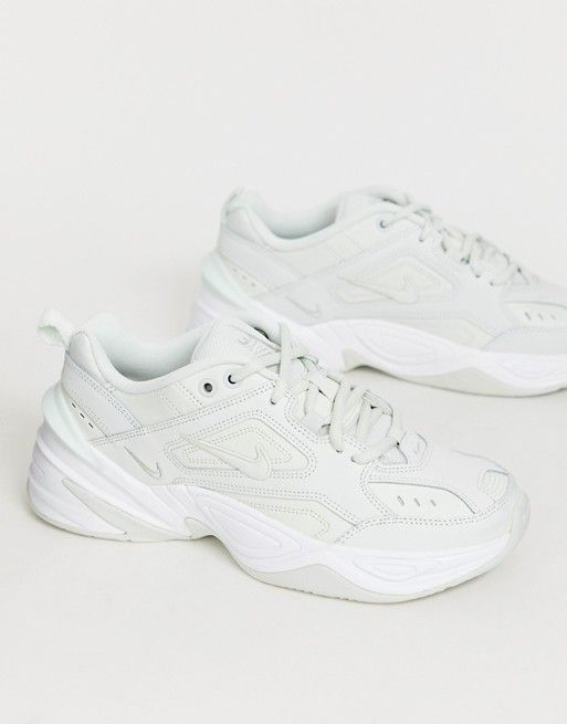 bb11376667ab9 Nike M2K Tekno trainers in retro white in 2019