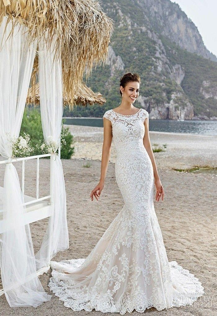 150 best Hochzeitskleider images on Pinterest   Wedding frocks ...