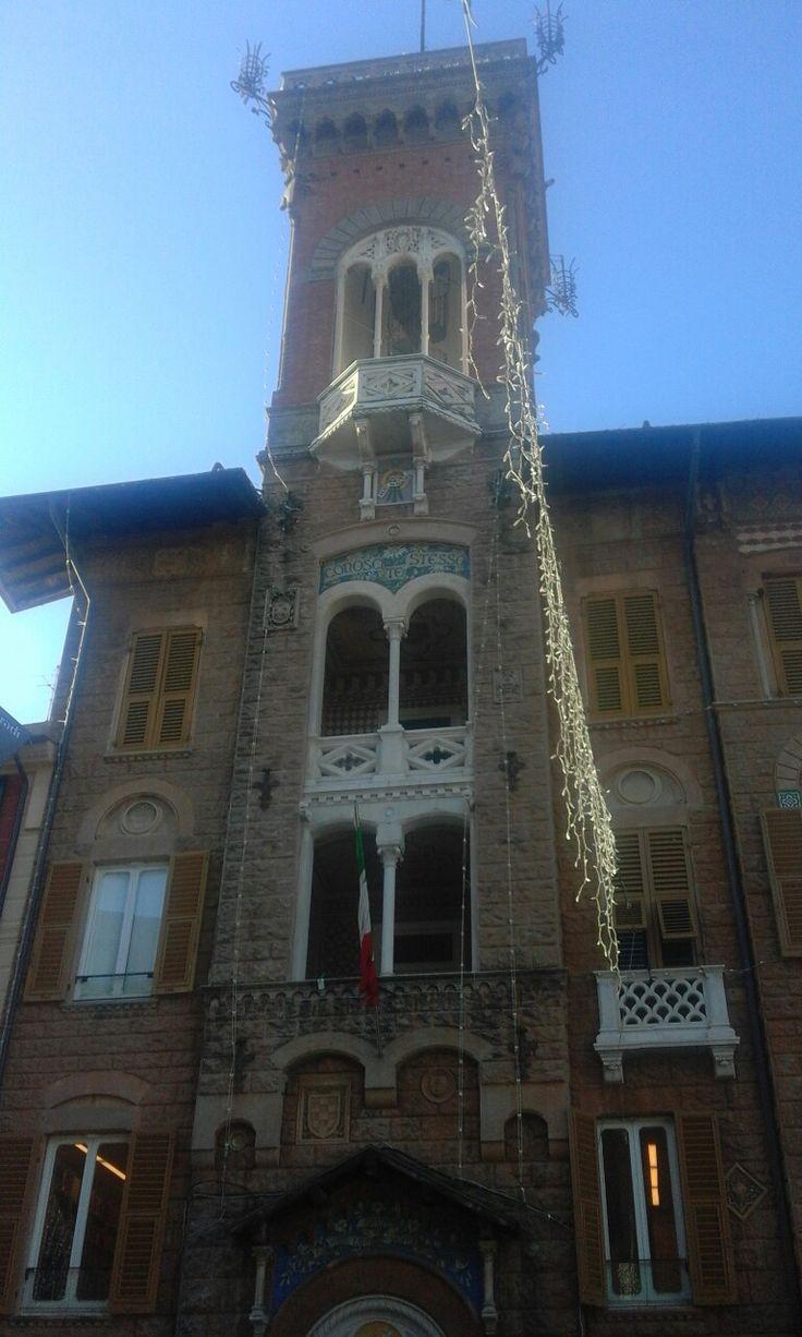 Sestri Levante Corso Colombo torretta del comune