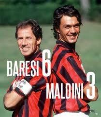 Franco Baresi e Paolo Maldini