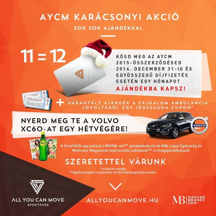 AYCM SportPass Karácsonyi akciónk!