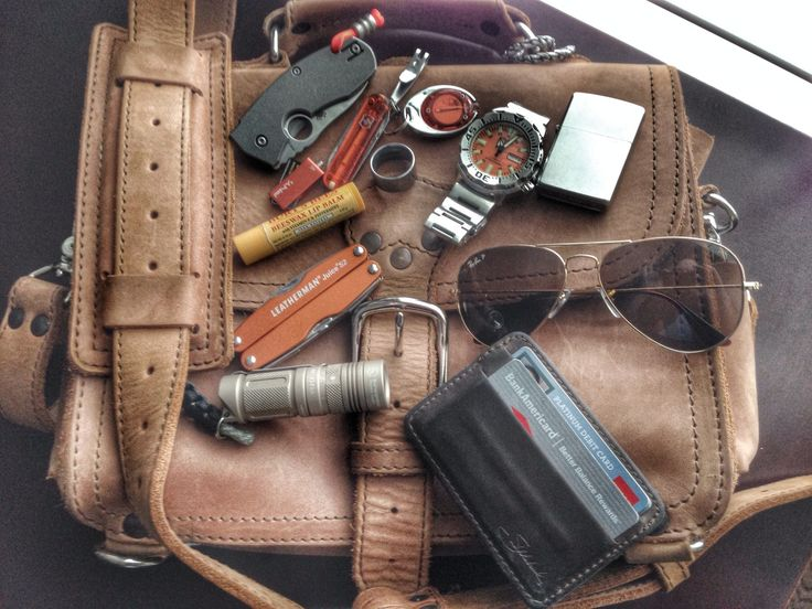 Saddleback Leather Tobacco Brown Medium Satchel Seiko Orange Monster Spyderco Techno Orange Leatherman Juice S2 Saddleback Leather Coffee Brown I.D wallet Tungsten Carbide wedding ring Sunwayman M11R flashlight ...