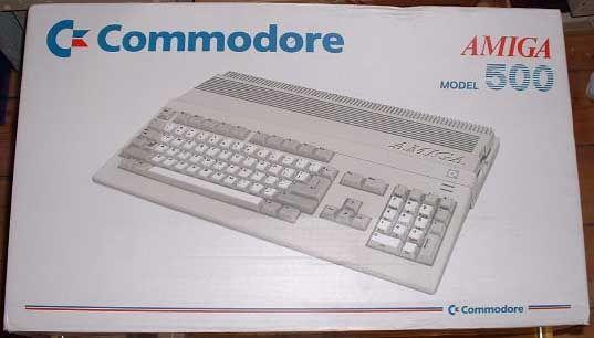 Amiga 500 box