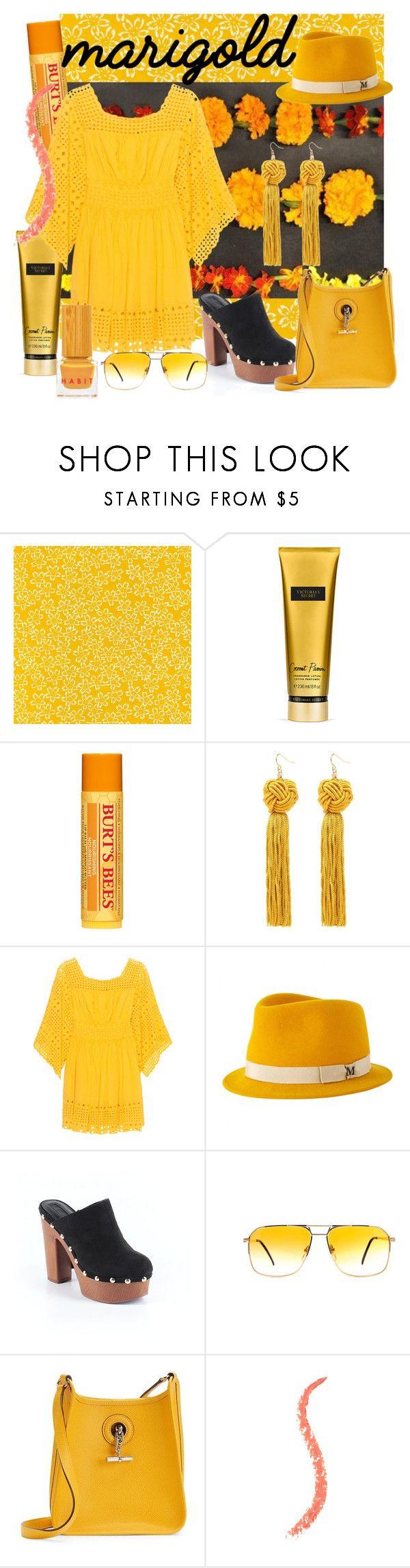 """Michele"" by alejandra-soraires on Polyvore featuring moda, Victoria's Secret, Burt's Bees, Plein Sud Jeanius, Maison Michel, Forever 21, Hermès y Habit Cosmetics"