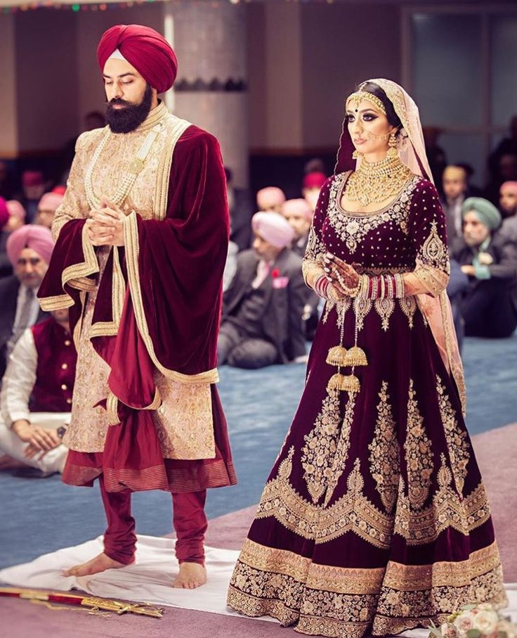 Sikh Wedding: Best 25+ Indian Wedding Dresses Ideas On Pinterest