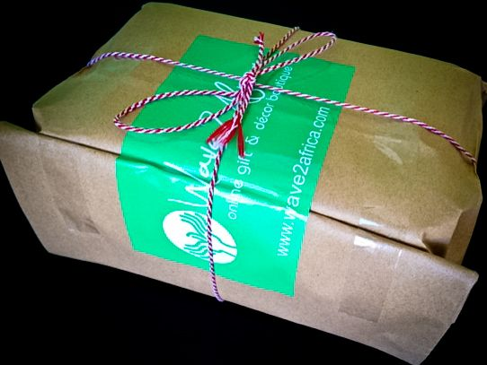 Wrapping gifts for our clients! www.wave2africa.com