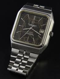 Image result for omega constellation Automatic square