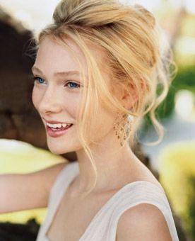 Brides Magazine: How to Look Your Best in Wedding Photos : Wedding Hairstyle Gallery