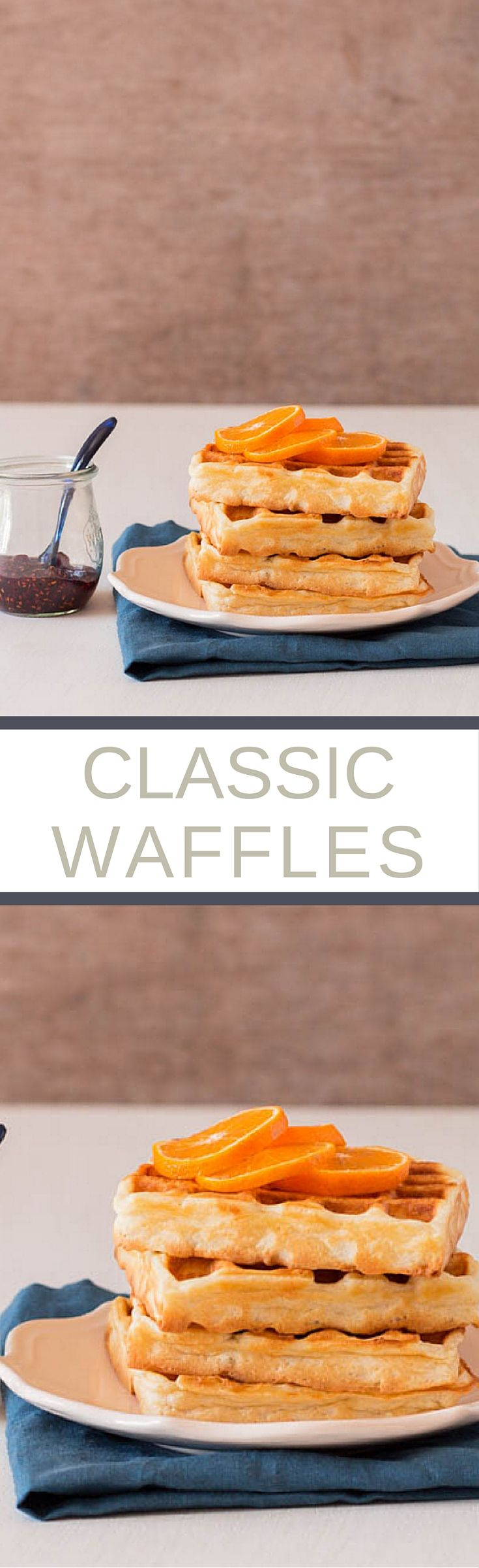 Classic Waffles Recipe | Recipes From A Pantry