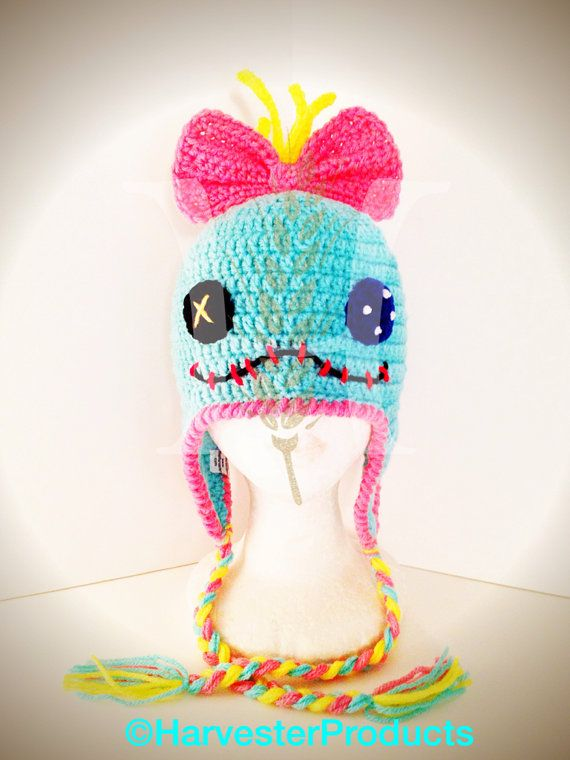 Disney Lilo and Stitch Scrump styled Crochet by HarvesterProducts, $40.00