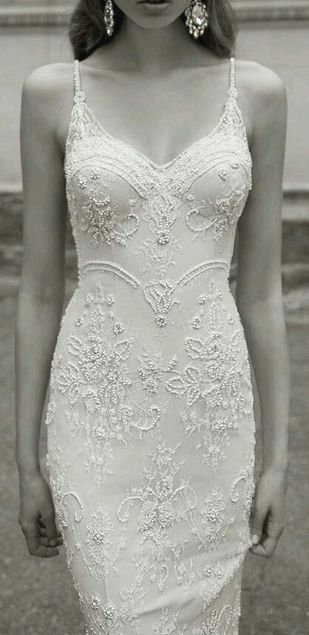 Elegant wedding dress. Forget about the soon-to-be husband, for now let us focus…