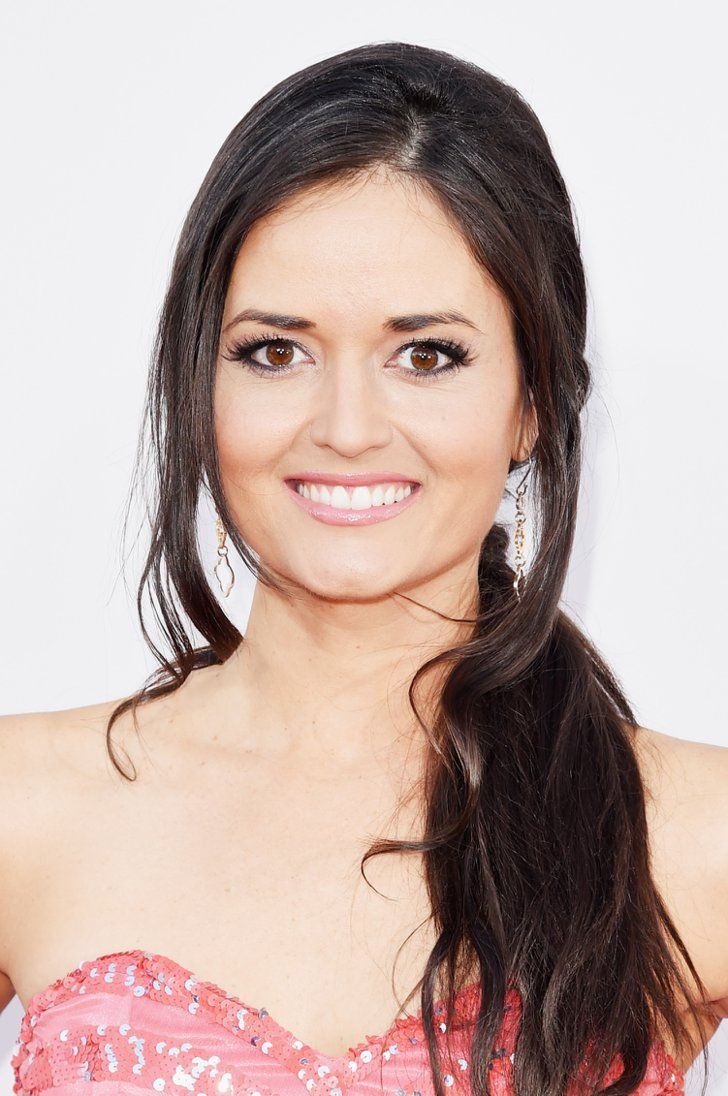 Pin for Later: Stare at Every Stellar Beauty Look From the American Music Awards Danica McKellar Danica rocked a low, tousled ponytail on the red carpet.