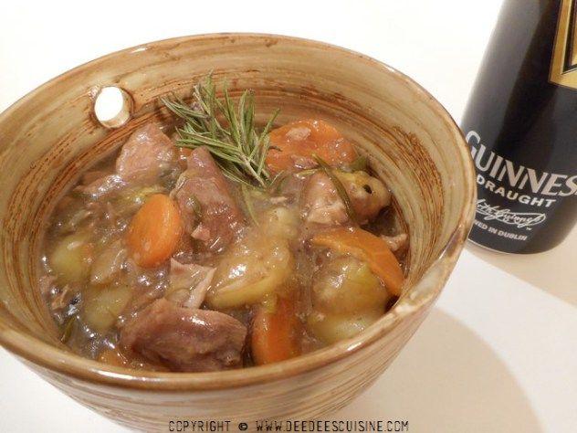 Irish stew recette irlandaise saint patrick ragout d'agneau
