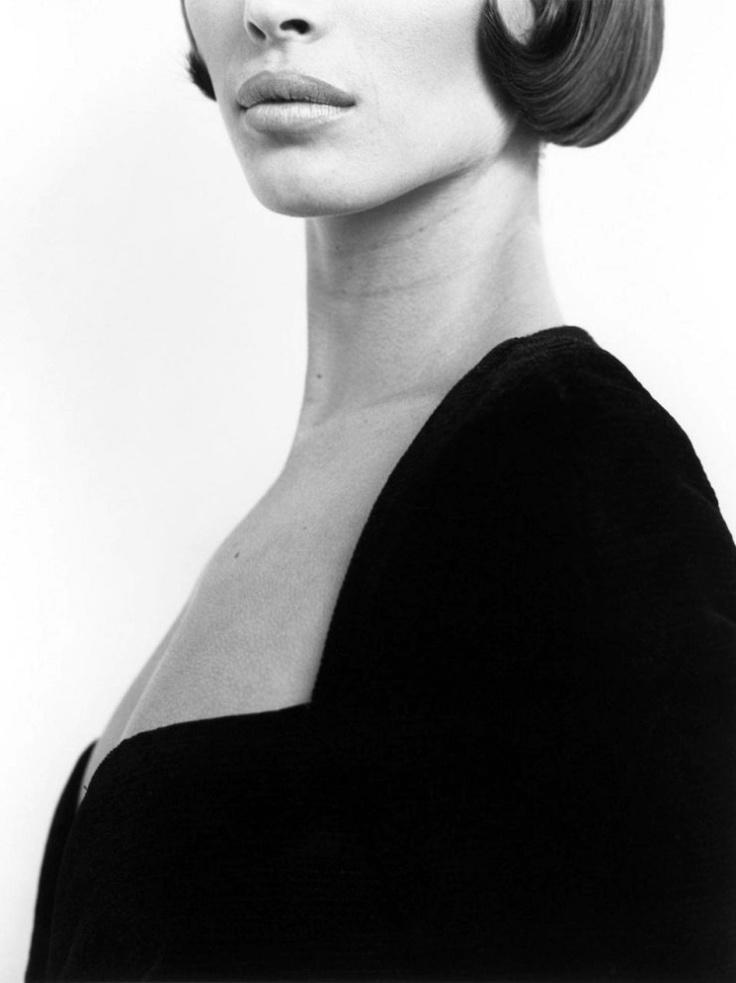 Herb Ritts - Christy Turlington, Versace 3, Milan, 1990