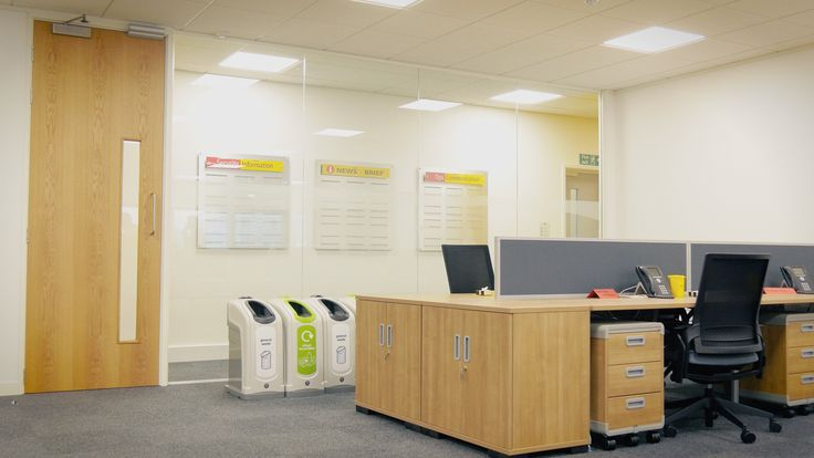 #officespace #admin areas at #DHL