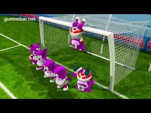 OSITO GOMINOLA español: A jugar ¡Chile a ganar el mundial ! todos con la roja. :)