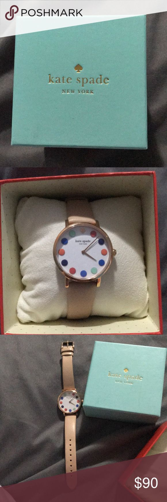 Kate spade Live Colorfully watch Only worn a few times and