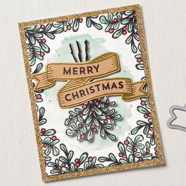 Stampin' Up! Banners for Christmas Photopolymer Set