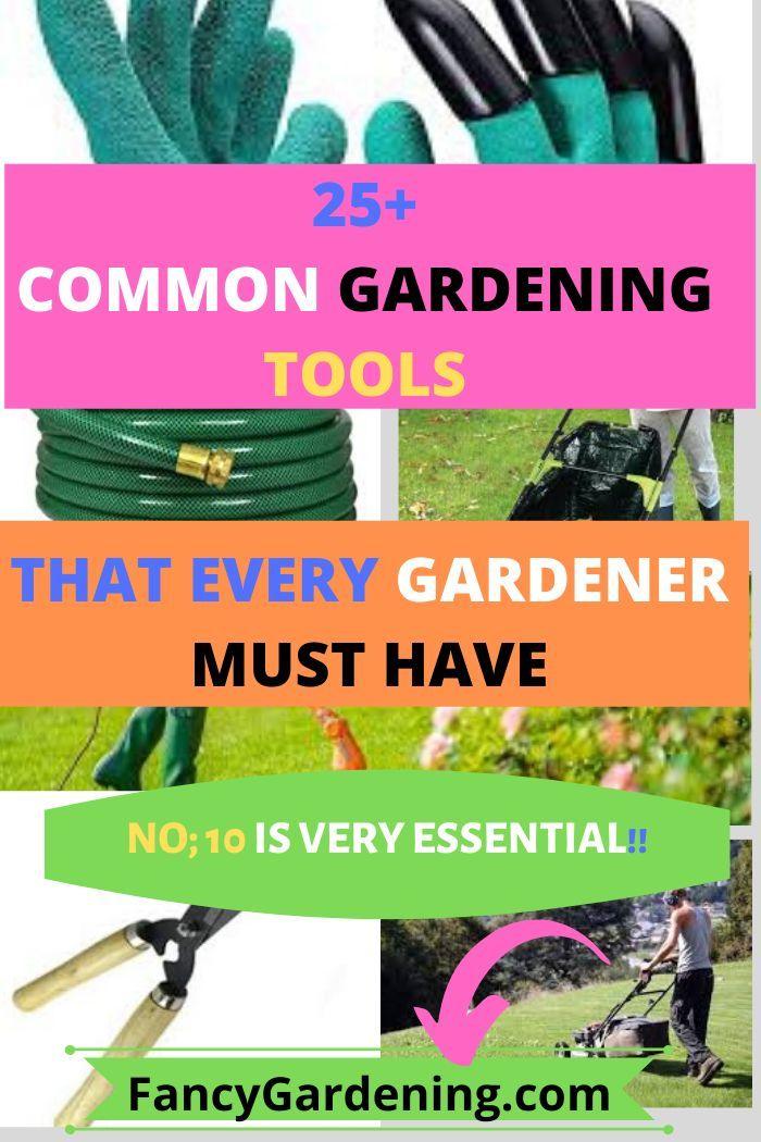 Best Gardening Tools That Every Gardener Must Have Garden Tools Garden Hoe Lawn Garden
