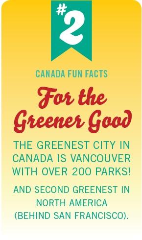 Canada Fun Fact No. 2 by #PinUpLive