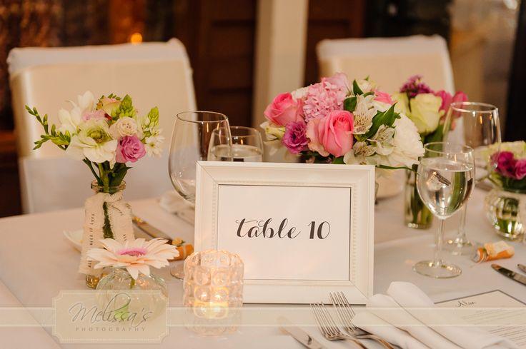 Sublime floral table arrangements