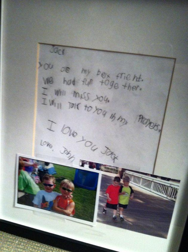 Best-friend Shares Heart-Wrenching Letter To Newtown Shooting Victim, Jack Pinto! ~ Gossipwelove