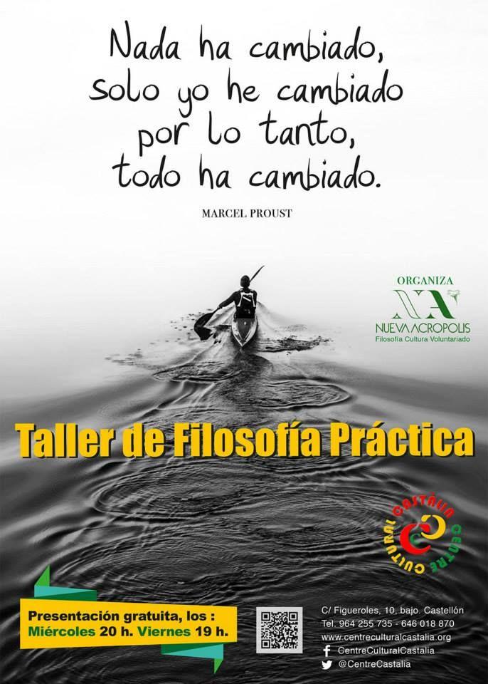 CENTRE CULTURAL CASTALIA-Taller de filosofia practica 2