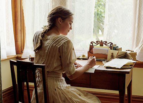 """Adalaine rubs the back of her neck and amusingly examines the letter in front of her. """"Preposterous,"""" she mumbles under her breath. She giggles quietly and grabs a pen and a fresh sheet of paper. 'Dear William,' she starts. 'If you think as so much that I fancy you, then you must really think so quite low of me. You are a ignorant, obnoxious, uncanny..' she pauses and sets down her pen and stares at the last word she wrote. 'inspiring'. Did she mean to right that? @lorenashley4"""