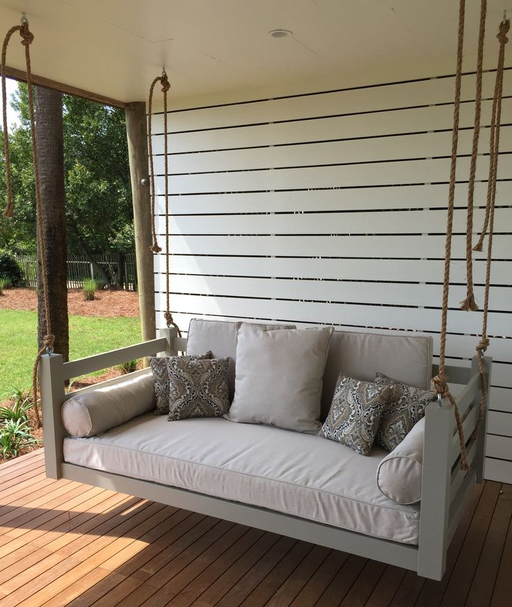 Lowcountry Swing Beds The Ion Porch Daybed