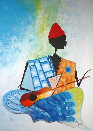 Backa Niang: un artista senegalés en Argentina - Che Monsieur