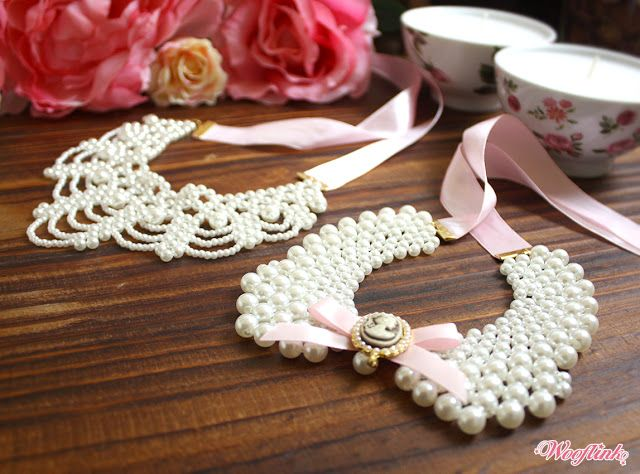 New ♥ PRINCESS COLLAR ♥ necklaces in two styles ~ ♥