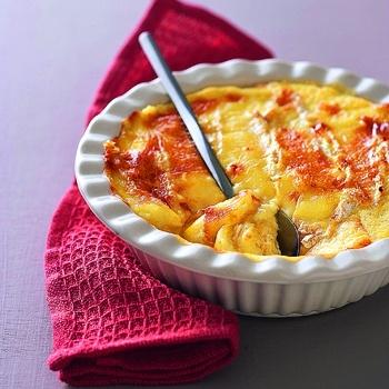 Pain perdu au camembert. Cuisine et Vins de France.