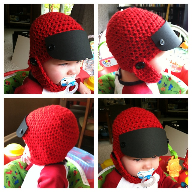 Ravelry: Baby Race Car Driver Crochet Hat pattern by Maggie Haveman-Gould