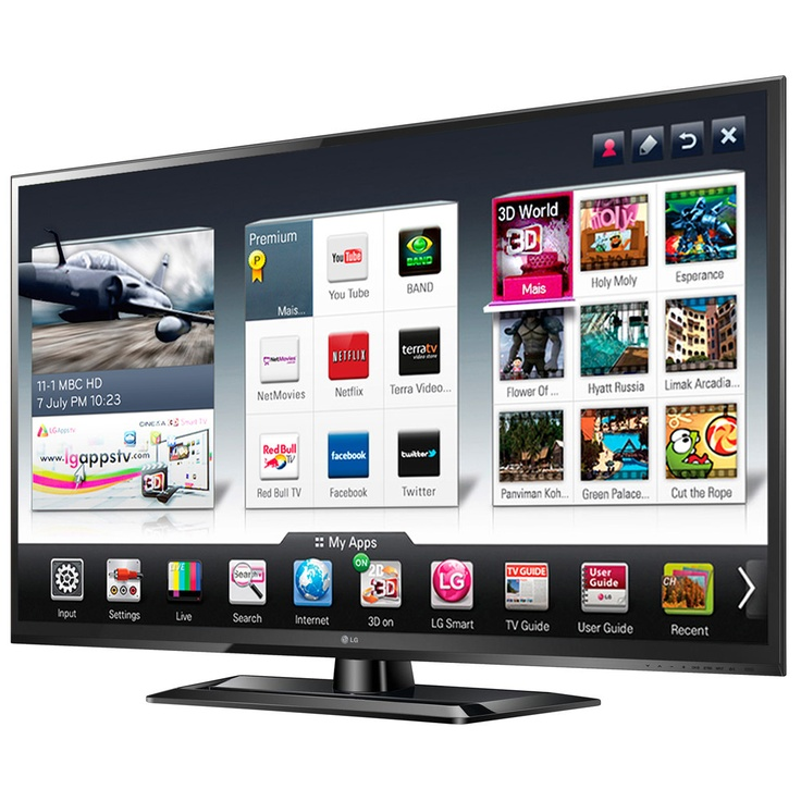 SMART TV LED 32'' 32LS5700 LG http://www.garbarino.com/masinfo.php?codigo=75999