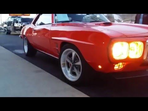 1969 Pontiac Firebird AMAZING SOUND, Hard Accelerations, Brutal V8 Exhaust Note, FOR SALE - YouTube