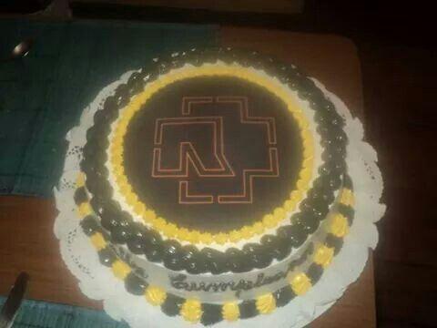 Torta de Rammstein