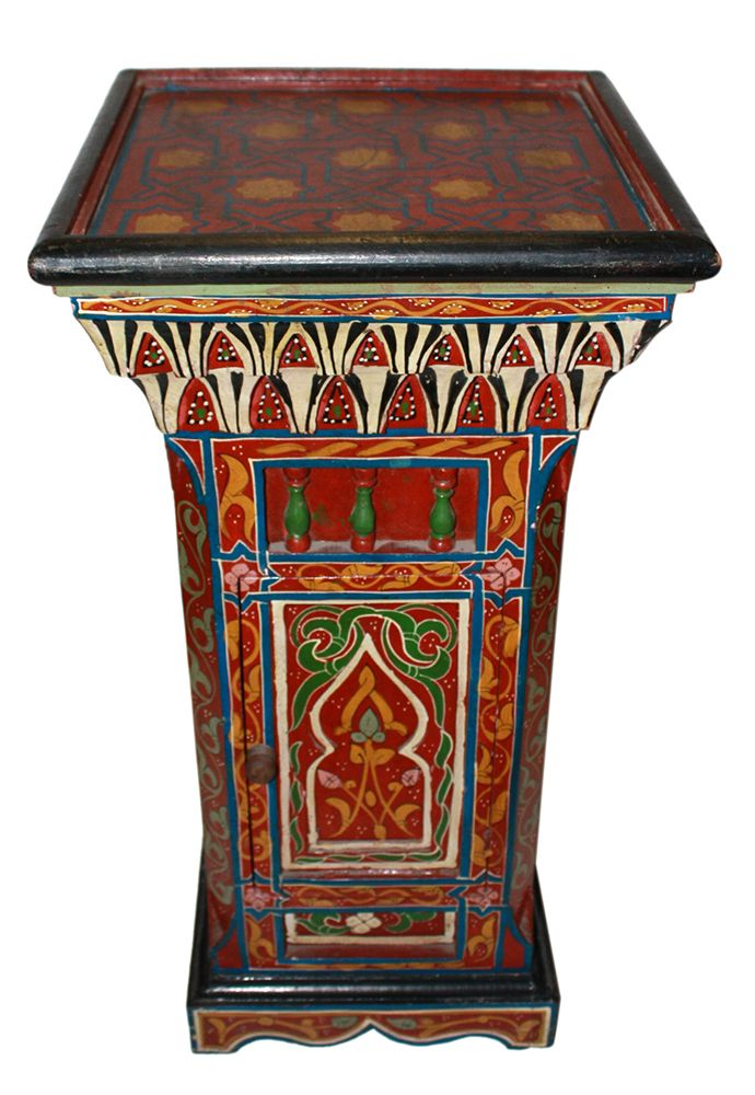 192 best images about bohemian home decoration on for Moroccan hand painted furniture