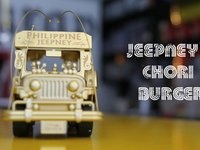 The Best Summer Treats: Jeepney's Chori Burger  Burger made from beef and longganisa (cured ground). <3 #burger #longganisa #choriburger #filipinofood #jeepney