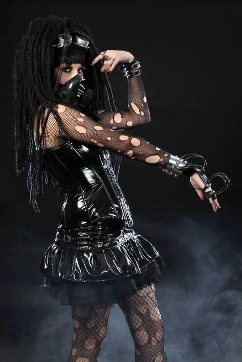 Goth porn cyber Sexy