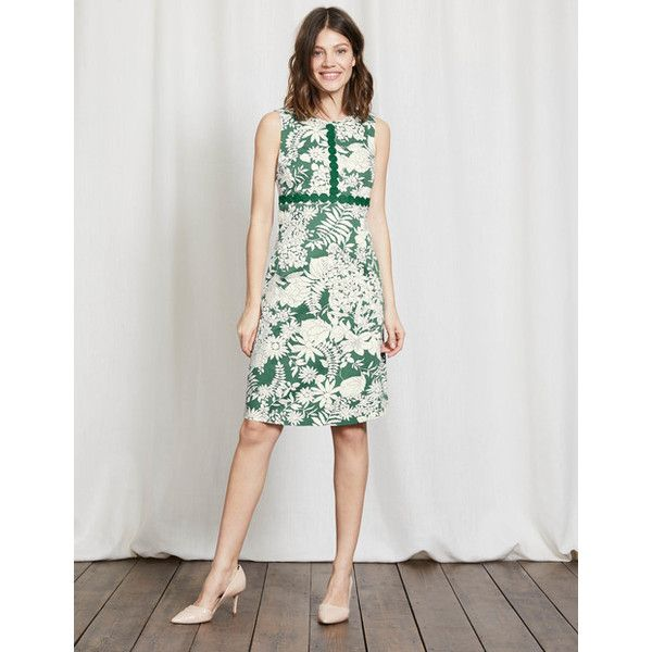 Boden Vivienne Dress ($150) ❤ liked on Polyvore featuring dresses, twist dress, floral dresses, floral print dress, boden dresses and floral printed dress