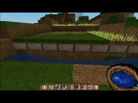 Tutorial für eine automatische Ernte-Maschine in Minecraft [Deutsch] - YouTube