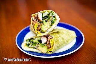 Go Green Chicken Wrap