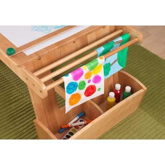 KidKraft Art Table With Drying Rack And Storage KidKraft 26954 Art Table  With Drying Rack And Storage