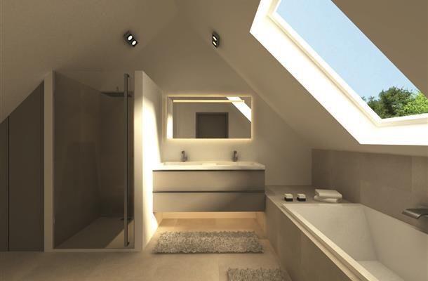 25 beste idee n over kleine zolderbadkamer op pinterest zolder badkamer zolder badkamer en - Idee outs kamer bad onder het dak ...
