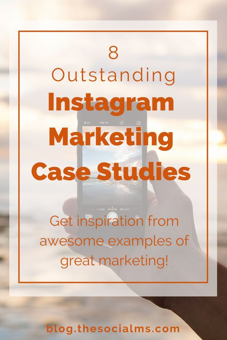 There are many different ways to use Instagram marketing – for more personal accounts and brands and businesses. Learn from these great examples. instagram case study, instagram case studies, instagram marketing case, instagram marketing case study #instagrammarketing #InstaTips
